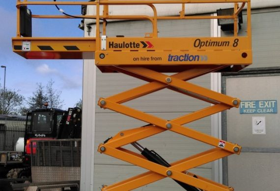 8 metre scissor lifts